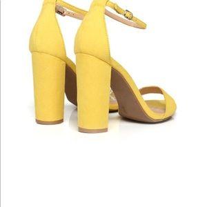 Fashion Nova Block Heels